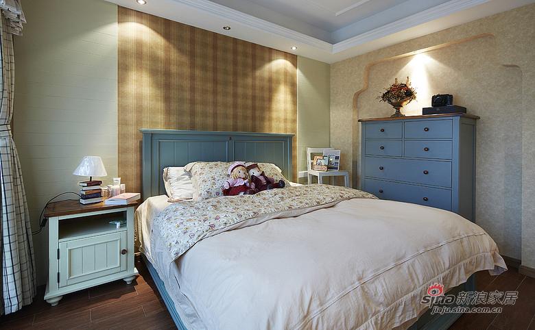 混搭 三居 卧室图片来自装修微日记在【高清】9万打造136平简约混搭三居室16的分享