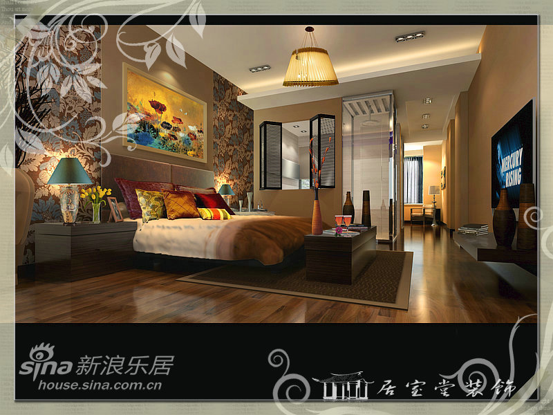 其他 二居 卧室图片来自用户2558746857在沃德城市中心67的分享