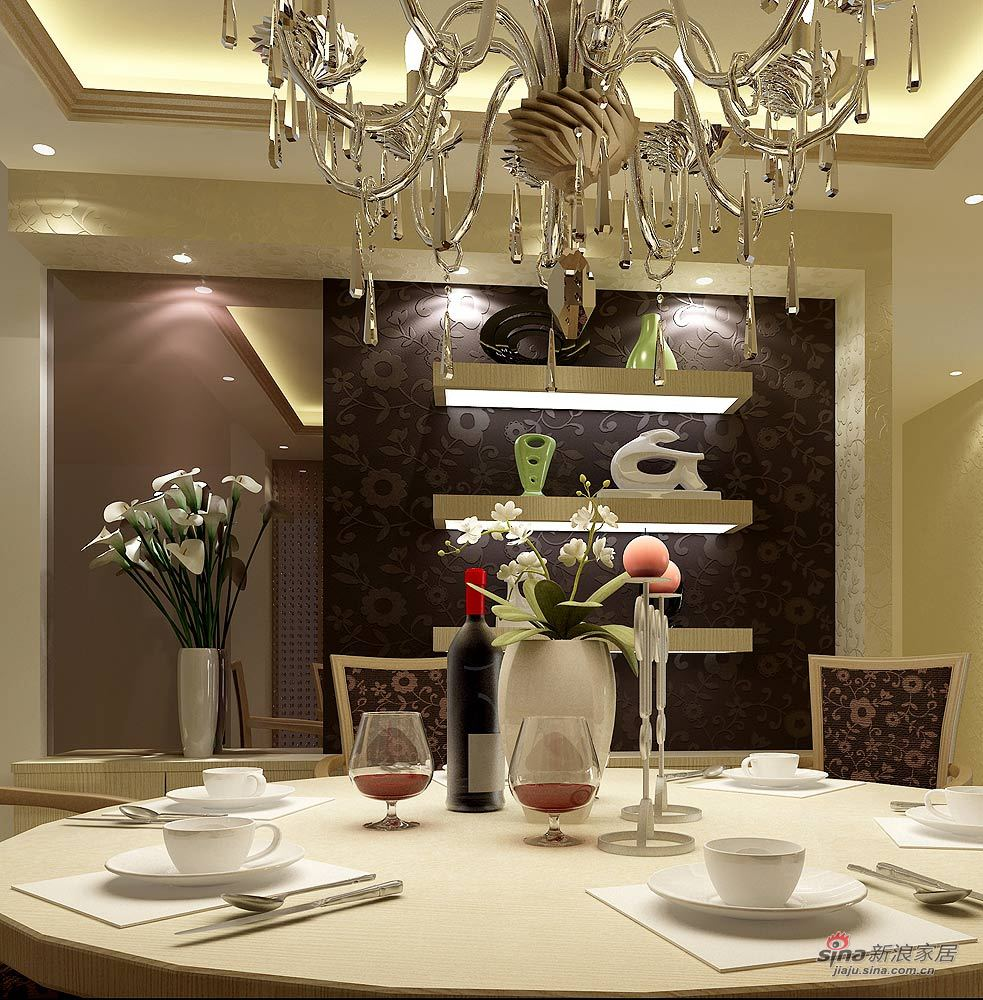简约 二居 餐厅图片来自用户2738829145在君悦香邸-----天下无双21的分享