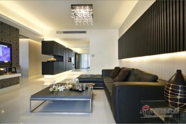 简约 三居 客厅图片来自用户2557010253在9万巧装135㎡空间喜越201288的分享