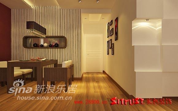 简约 一居 餐厅图片来自用户2738820801在实出装饰鸿坤理想城80的分享