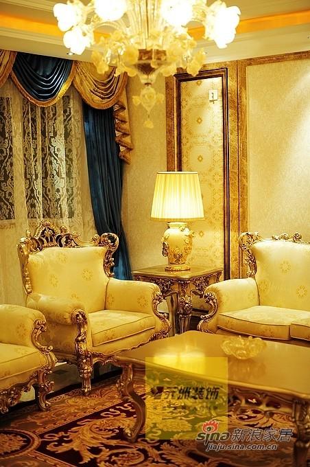 欧式 三居 客厅图片来自用户2746889121在奢华欧式元洲装饰案例84的分享