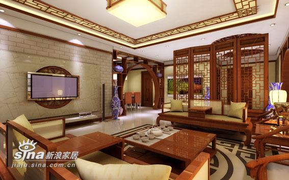 中式 四居 客厅图片来自用户2748509701在太原·华宇中式57的分享