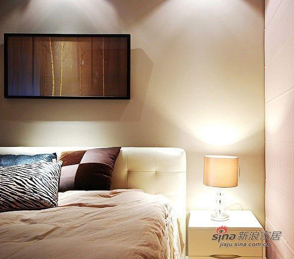 现代 三居 卧室图片来自佰辰生活装饰在夫妻10万装98平简约品位家75的分享