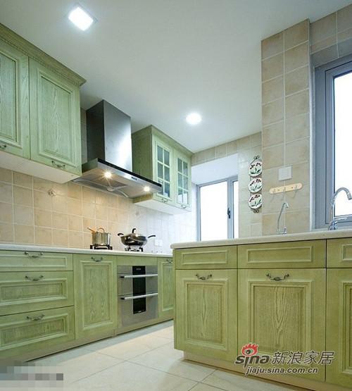 简约 三居 厨房图片来自用户2737950087在好丈夫6万装修90平温馨家园68的分享