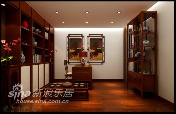 简约 一居 书房图片来自用户2556216825在端庄、大方别具韵味的中国风97的分享