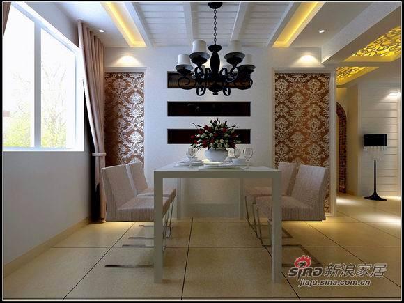 简约 三居 餐厅图片来自用户2738845145在9万打造130平米唯美家居57的分享