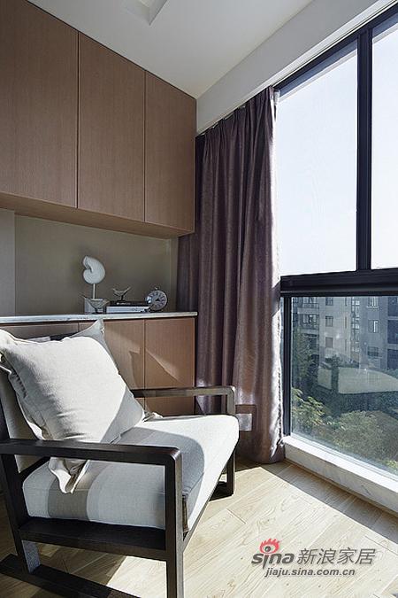 现代 二居 阳台图片来自佰辰生活装饰在15万营造86平时尚简约婚房78的分享