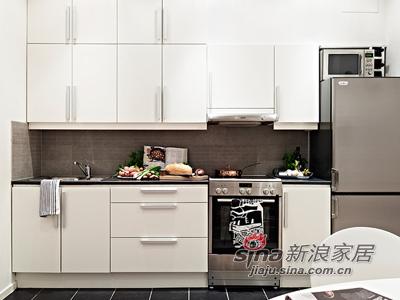 欧式 其他 厨房图片来自用户2746889121在50平清雅简约白色单身公寓46的分享