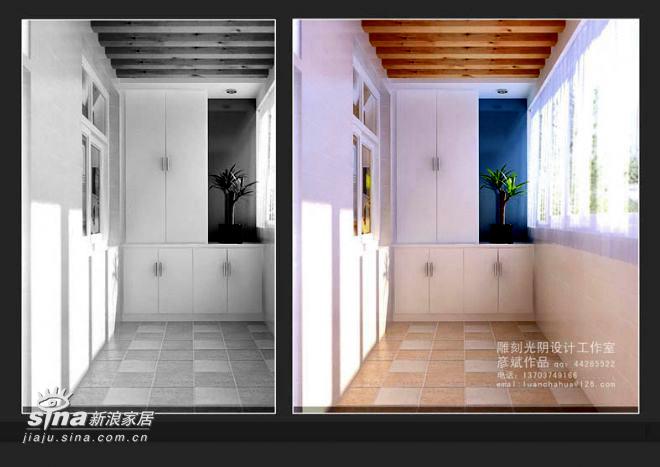 简约 三居 阳台图片来自用户2557979841在136平米精装修82的分享