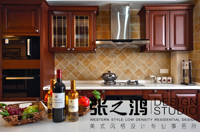 美式 二居 厨房图片来自用户1907686233在【高清】220平品味环岛凯尔顿传统美式风格25的分享