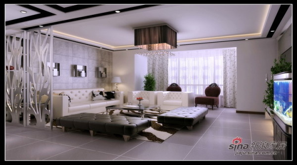 沙发背景效果图