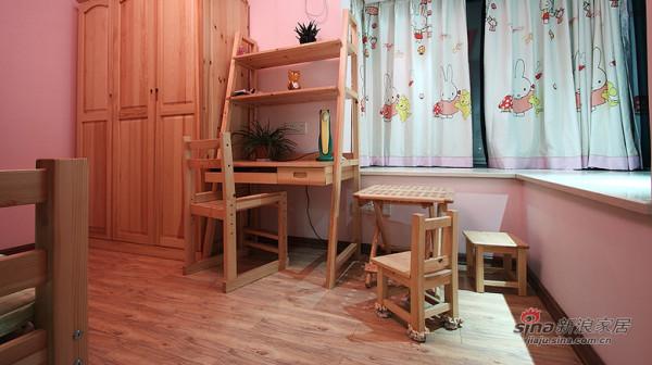 现代 三居 儿童房图片来自装修微日记在【高清】8万打造105平现代雅致之家76的分享