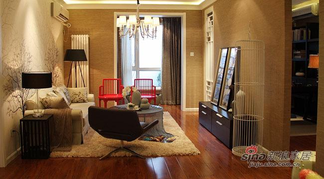 中式 三居 客厅图片来自用户1907658205在三居二卫传统的中国韵味71的分享