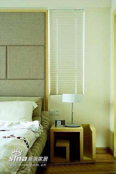 简约 三居 卧室图片来自用户2738820801在超漂亮三居样板间76的分享
