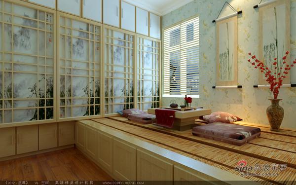 次卧室的榻榻米设计