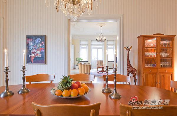 北欧 别墅 餐厅图片来自用户1903515612在150平北欧精致混搭风格公寓 稳重不失温馨79的分享