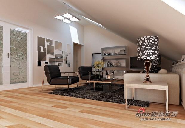 欧式 复式 客厅图片来自用户2772856065在金融街·金色漫香林47的分享