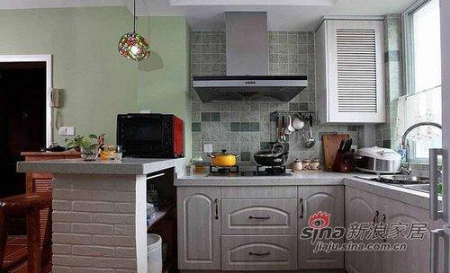 混搭 一居 厨房图片来自用户1907691673在50平老房华丽惊变两房两厅10的分享