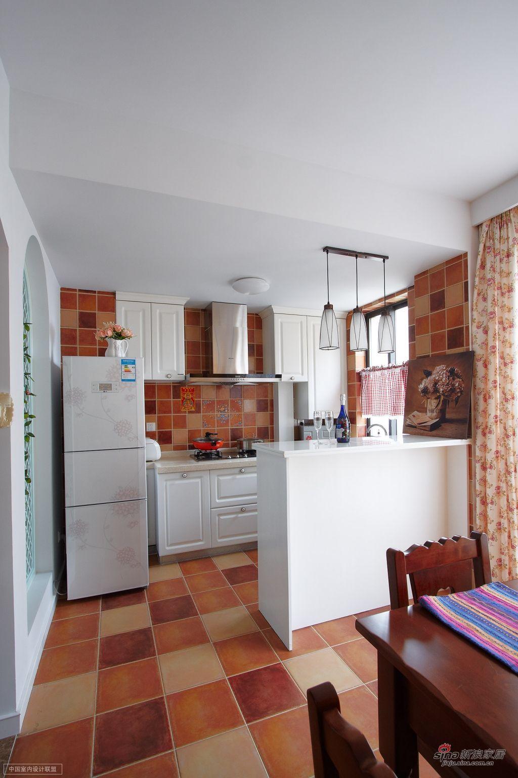 简约 厨房 135方二居田园自然居图片来自用户2558757937在卷卷的分享