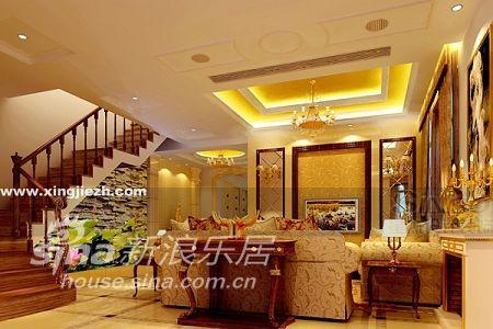 欧式 别墅 客厅图片来自用户2746953981在依云湾14的分享