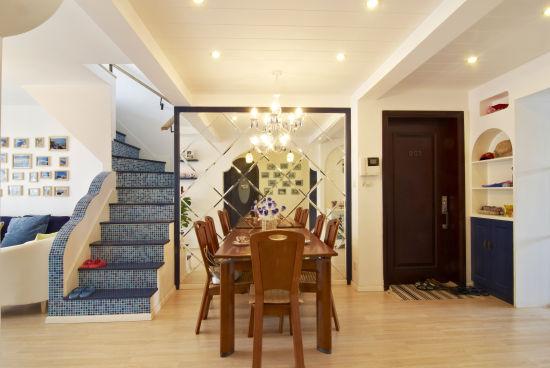 地中海 loft 楼梯图片来自用户2756243717在12万完美铸造浪漫地中海情调loft58的分享