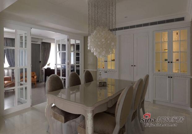 美式 复式 餐厅图片来自佰辰生活装饰在17万打造165平时髦美式三口之家68的分享