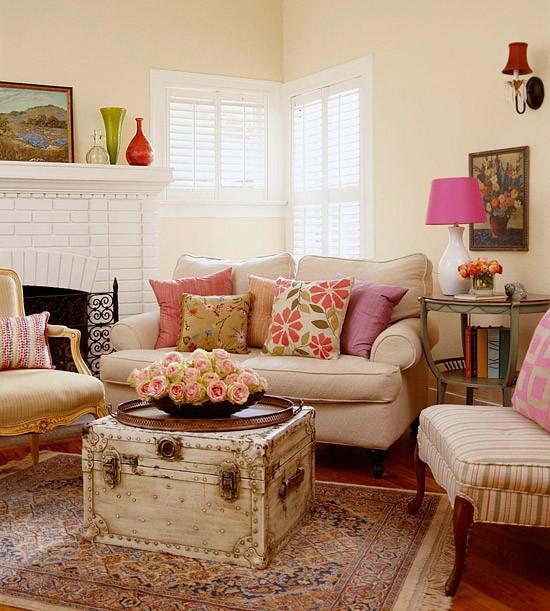 客厅 小资 美式 舒适图片来自用户2772840321在10个美式乡村风格客厅 像小资一样生活吧的分享