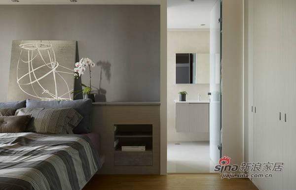 简约 三居 客厅图片来自用户2739081033在4万装130平极简主义新居21的分享