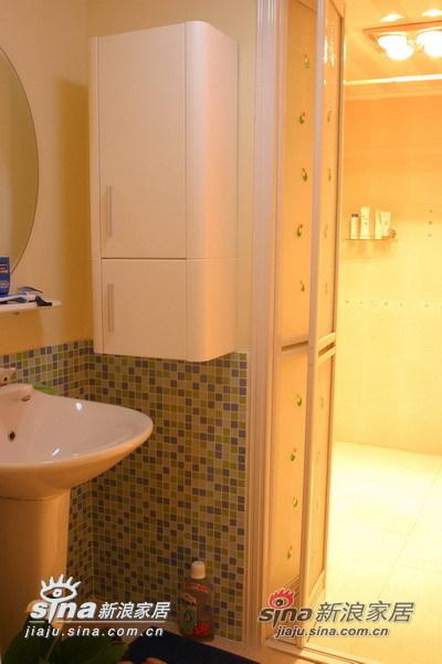 简约 一居 卫生间图片来自用户2559456651在从容柔和温馨家园40的分享