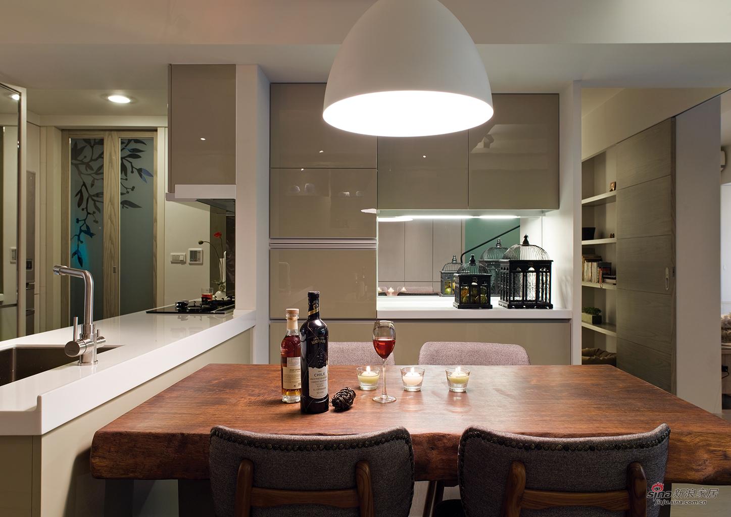 简约 四居 餐厅图片来自用户2557010253在文艺气息的简约风格73的分享