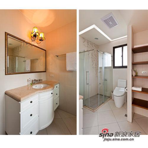 常出国旅游的屋主喜爱饭店式的卫浴设备