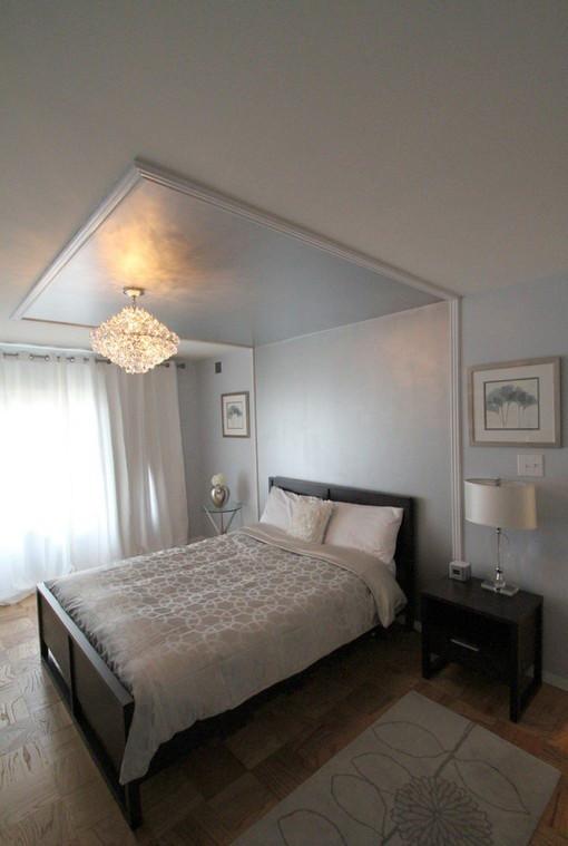 欧式简约卧室吊顶