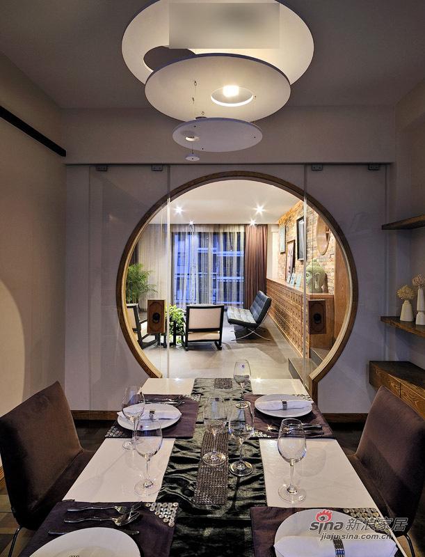 北欧 三居 餐厅图片来自用户1903515612在港女15万造130平米复古稳重家29的分享