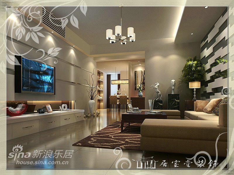 简约 二居 客厅图片来自用户2745807237在沃德城市中心19的分享