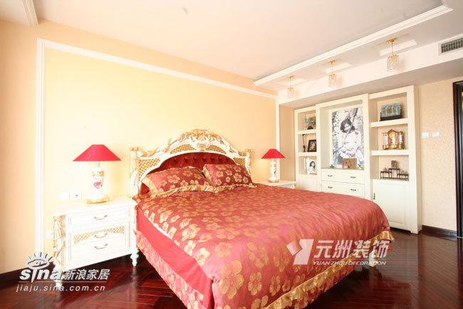 欧式 三居 卧室图片来自用户2746953981在山水文园76的分享