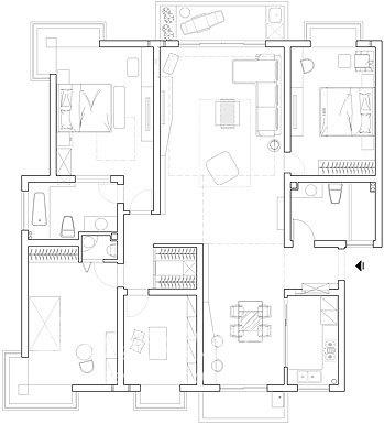 简约 一居 客厅图片来自用户2737735823在涂山花园22的分享