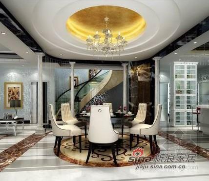欧式 别墅 餐厅图片来自用户2557013183在简欧风格龙湾别墅设计32的分享