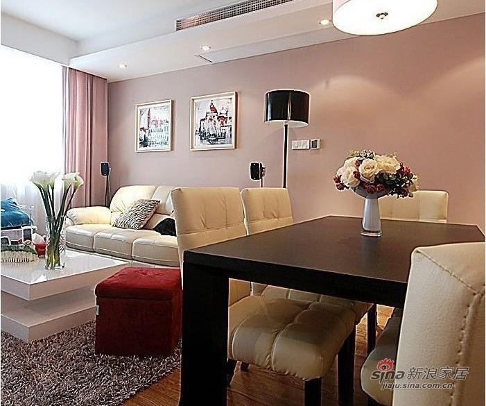 简约 二居 客厅图片来自用户2559456651在100平都市白领时尚华丽两居室98的分享