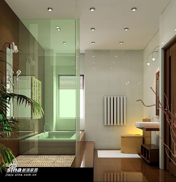 中式 四居 卫生间图片来自用户2757926655在沉稳大气 完全中国风34的分享