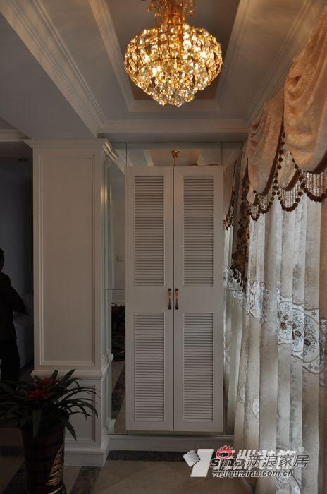 欧式 公寓 玄关图片来自用户2746948411在9万打造140平简欧花园洋房91的分享