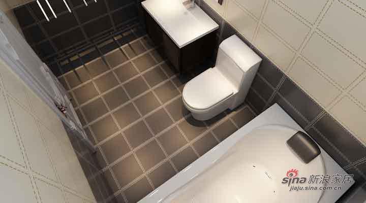 欧式 三居 卫生间图片来自用户2757317061在14万打造大正莅江189平简欧三居室87的分享