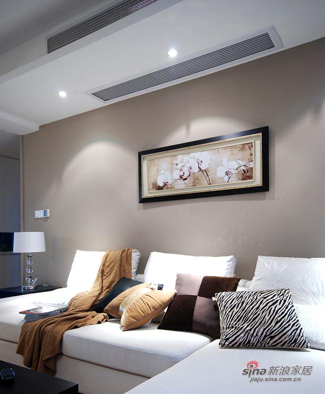 简约 二居 客厅图片来自装修微日记在【高清】10万装96平随性自然简约家12的分享