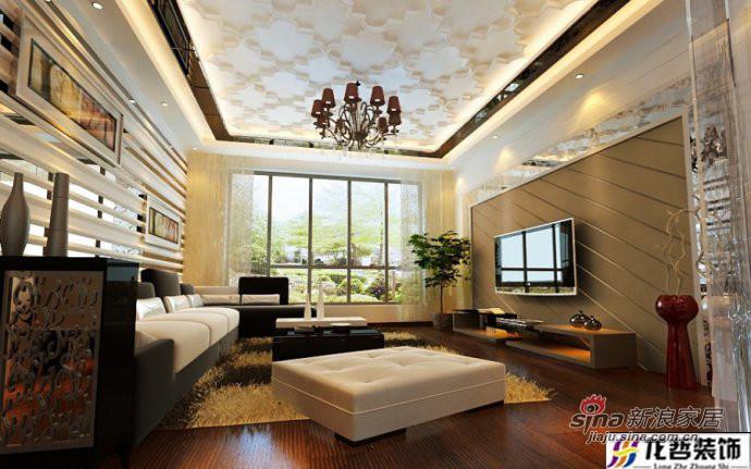 简约 一居 客厅图片来自用户2745807237在16万打造140平现代风格3居10的分享