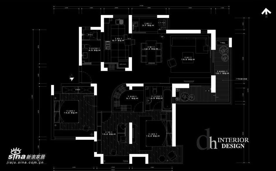 简约 三居 客厅图片来自用户2557010253在简约风格-苏州东湖大郡14的分享
