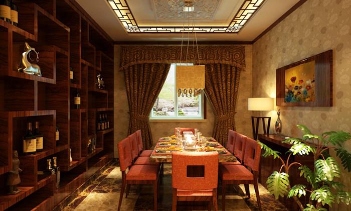 中式 别墅 餐厅图片来自用户1907662981在我的专辑851173的分享