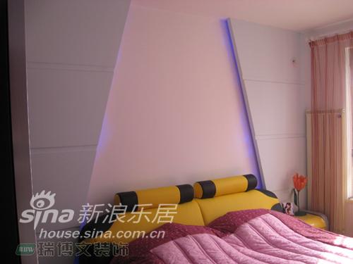简约 二居 卧室图片来自用户2559456651在雅致简约两居55的分享