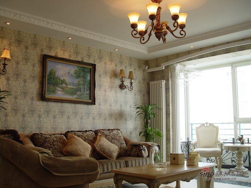 欧式 复式 客厅图片来自用户2746889121在简欧复式53的分享