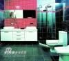 让浴室拥有充满强烈设计感的新面容,像化妆一样要讲究技巧。运用简单的瓷砖创造出融入个人特点的风格。浴室,让浴室焕然一新。整体的拼贴、局部的点缀、腰线的设计、干湿区域的合理分隔,小小的瓷砖功不可没