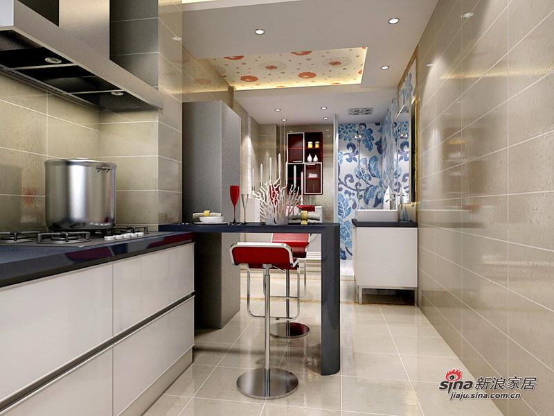 简约 二居 厨房图片来自用户2745807237在4.5万装修北空宿舍93㎡简约2居室22的分享